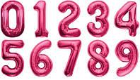 Цифры розовые. Испания