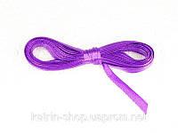 Лента атласная, 6 мм, 5 метров Фиолетовый