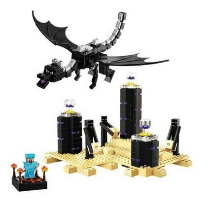 Конструктор Lele 79073 Дракон Края (аналог Lego Майнкрафт, Minecraft 21117), фото 2