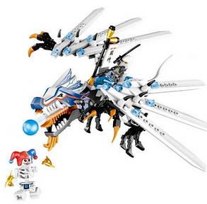 Конструктор Lele серия Ninja / Ниндзя 79142 Атака Ледяного Дракона (аналог Lego Ninjago 2260), фото 2