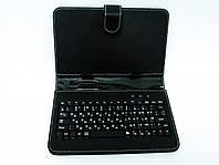 Чехол клавиатура для планшета 7 Rus MicroUSB Black, фото 1
