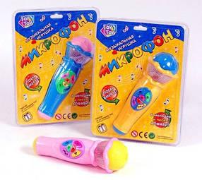 Детский музыкальный микрофон Joy Toy 7043