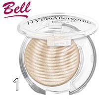 Bell HypoAllergenic - Тени для век 1-цв. Shimmering Sands Тон 01 песочные мерцающие