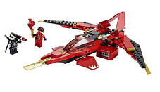 Конструктор Lele серия Ninja / Ниндзя 79114 Истребитель Кая (аналог Lego Ninjago 70721), фото 3