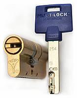 Цилиндр Mul-t-lock Interactive+ 81мм (31х50) ключ-ключ латунь