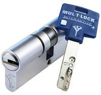 Цилиндр Mul-t-lock Interactive+ 75мм (35х40) ключ-ключ никель-сатин