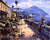 Рисование по номерам 40×50 см. Солнечное Средиземноморье Художник Сунг Сам Парк