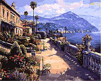 Рисование по номерам 40×50 см. Солнечное Средиземноморье Художник Сунг Сам Парк, фото 1