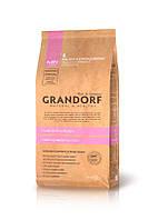 Grandorf (Грандорф) Puppy корм для щенков и беременных и кормящих сук ягненок с рисом (1 кг)