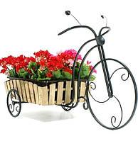 Подставка для цветов Велосипед большой