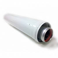 Удлинитель коаксиальный для газового котла ф60/100 мм L=0,5м