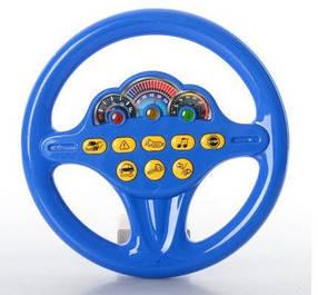 Руль музыкальный Joy Toy 7039