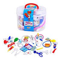Игровой набор Доктор M 0461 Чудо-аптечка в чемодане. 36 предметов