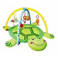 Развивающий коврик для малышей Черепаха 898-112B Приятный зеленый цвет