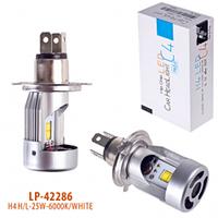 Лампа автомобильная  PULSO С4/LED/H4 P43T H/L/2*Philips Flip Chip/12v25w/2800Lm/6000K