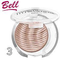 Bell HypoAllergenic - Тени для век 1-цв. Shimmering Sands Тон 03 розово натуральные мерцающие