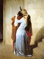 Франческо Хайес - поцелуй (60х45см)