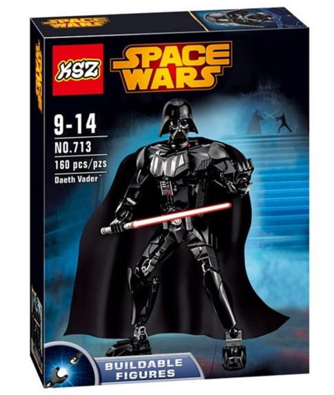 Конструктор KSZ серия Space Wars 713 Daeth Vader (аналог Lego Star Wars 75111 Дарт Вейдер)