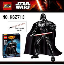Конструктор KSZ серия Space Wars 713 Daeth Vader (аналог Lego Star Wars 75111 Дарт Вейдер), фото 2