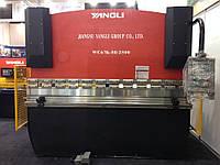 Yangli WC 67 K 80/2500 гидравлический гибочный пресс листогиб кромкогиб