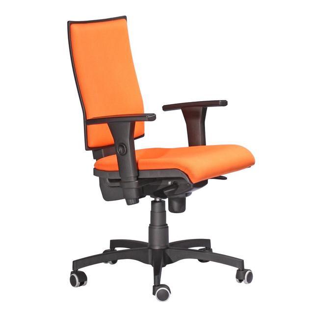 Кресло Маск LB (низкая спинка) тм АМФ ткань Онтарио SM ― 2302 Оранжевый. Арт: 241573
