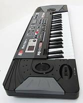 Детский синтезатор MQ-805 USB. MP3, 37 клавиш,16 тонов,10 ритмов;, фото 3