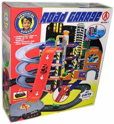 Игровой набор Гараж Мега парковка 922-7. 4 этажа. 4 машинки, фото 2