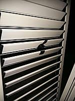 Алюминиевые ставни на окна с  поворотными ламелями