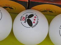 М'ячі, настільний теніс, спортінвентар Butterfly 3*** - вибір кращих