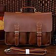 Кожаный портфель TIDING BAG 7105X-1 , фото 2
