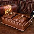 Кожаный портфель TIDING BAG 7105X-1 , фото 5