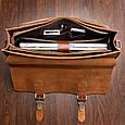 Кожаный портфель TIDING BAG 7105X-1 , фото 7