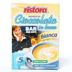 Горячий Белый шоколад Ristora 5шт по 23г
