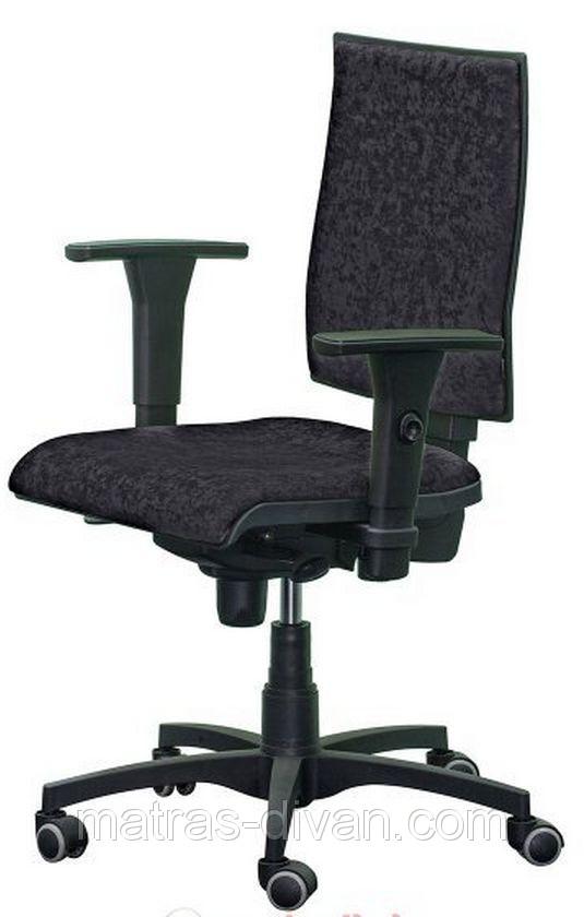 Кресло Маск LB (низкая спинка) Розана-101 синий.