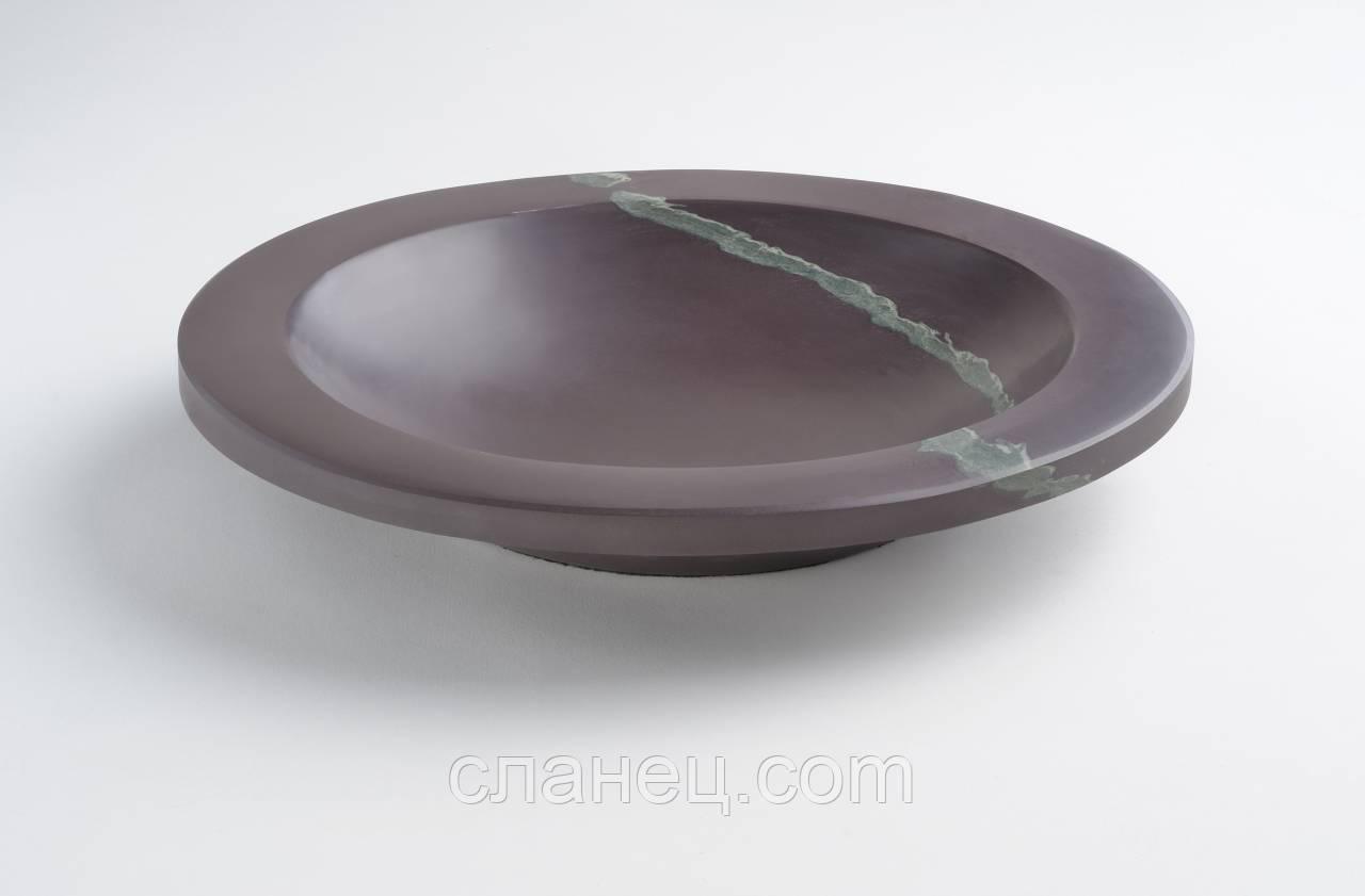 Ваза из камня, сланца 30,5 см HONED Collection