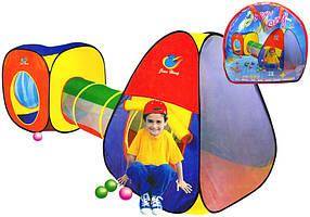 Детская игровая палатка c переходом А999-53
