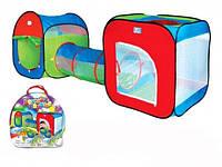 Детская игровая палатка c переходом А999-147