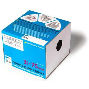 Герметизирующая битумная лента армированная фольгой 3м х 7.5см