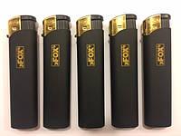 Зажигалка турбо резина чёрная xFox