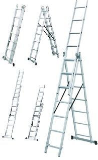 Лестница универсальная Werk LZ3209B 3x9