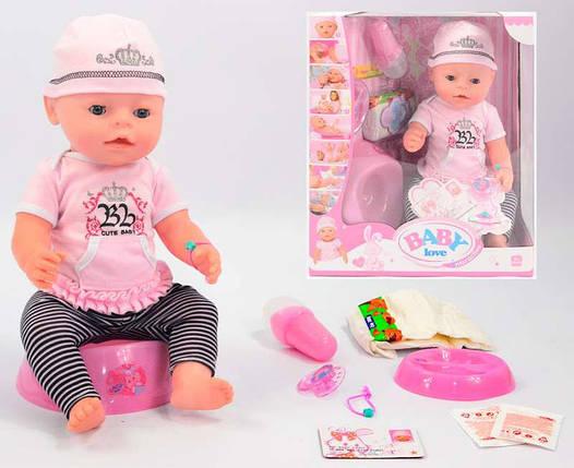 Кукла Пупс 42893. 42 см, 8 функций, 9 аксессуаров, фото 2
