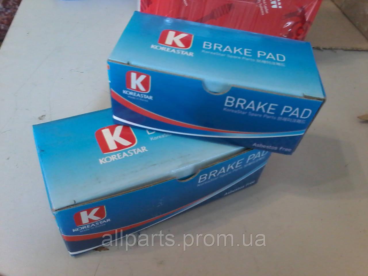 Тормозные колодки KOREASTAR (автозапчасти - страна производитель Корея)
