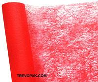 Флизелин флористический красный 10 ярдов * 60 см