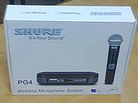 Радио-система Shure с ручным микрофоном PG 4, фото 1