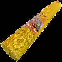 Сетка стеклотканевая фасадная Works 125г/м2 желтая