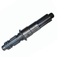 Вал вторичный делителя  КПП ЯМЗ-238, демульпликатора, понижающей передачи КРАЗ, фото 1