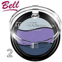 Bell HypoAllergenic - Тени для век 3-цветные Triple EyeShadow Тон 02