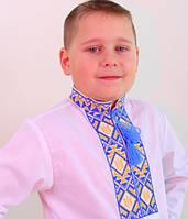Подростковая вышиванка на мальчика ГЕРБ