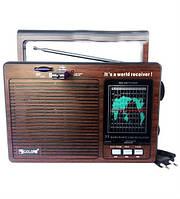 Акустическая система портативная Радиоприемник GOLON RX-9977UAR