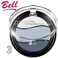 Bell HypoAllergenic - Тени для век 3-цветные Triple EyeShadow Тон 03